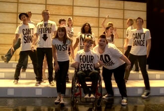 Glee Lady Gaga Born This Way April27newsnea