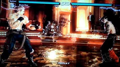 Tekken 6 BR Devil Jin and Bryan Fury secret moves