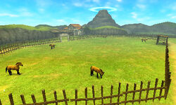 Rancho Lon Lon OoT 3D