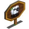 Cotton Sheep Mastery Sign-icon