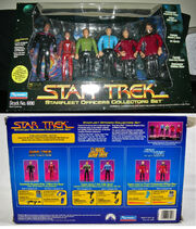 Star Trek Starfleet Officers Collectors Set
