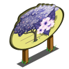 Purple Empress Tree Mastery Sign-icon