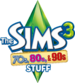 The Sims 3 70s, 80s, & 90s Stuff Logo