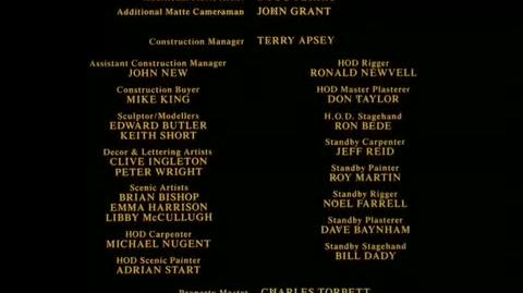 Batman - closing credits 1 Part 2