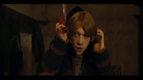 Harry Potter and the Goblet of Fire - Making peace with Ron
