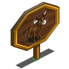 Aurochs Calf Mastery Sign-icon