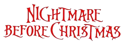 Image - Nightmare Before Christmas Logo.png - CAW ...