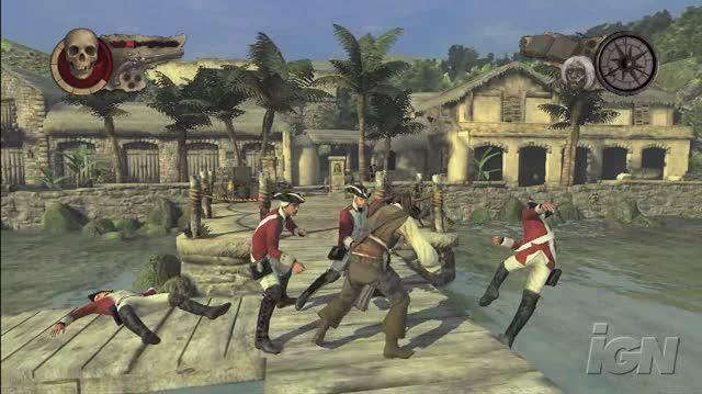 Pirates of the Caribbean At World's End Xbox 360 Trailer - Port Royal