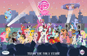 Thank you for two years by ibringthazelc-d5hhkdj