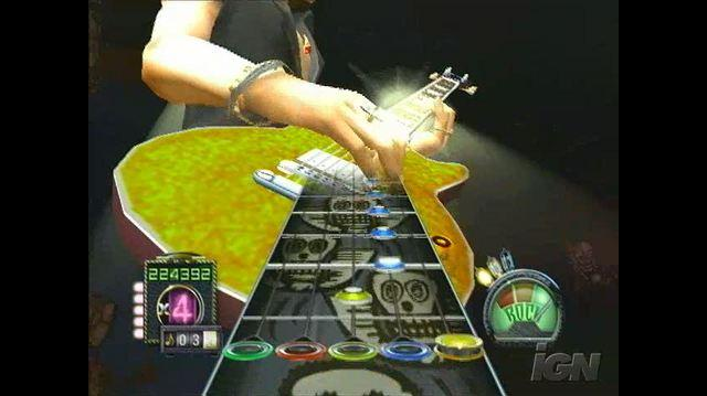 Guitar Hero Aerosmith PlayStation 2 Gameplay - Further Evidence of Rocking Out