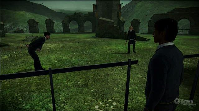 Harry Potter and the Half-Blood Prince PlayStation 3 Gameplay - Harry Dominates Duels