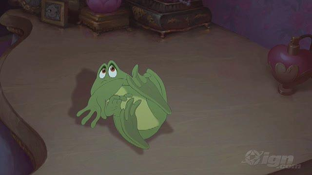 The Princess and the Frog Movie Clip - Kissing the Frog