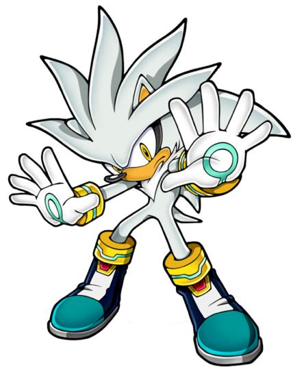 Sonic The Hedgehog Silver the Hedgehog Tail Jacket  Silver The Hedgehog Walking
