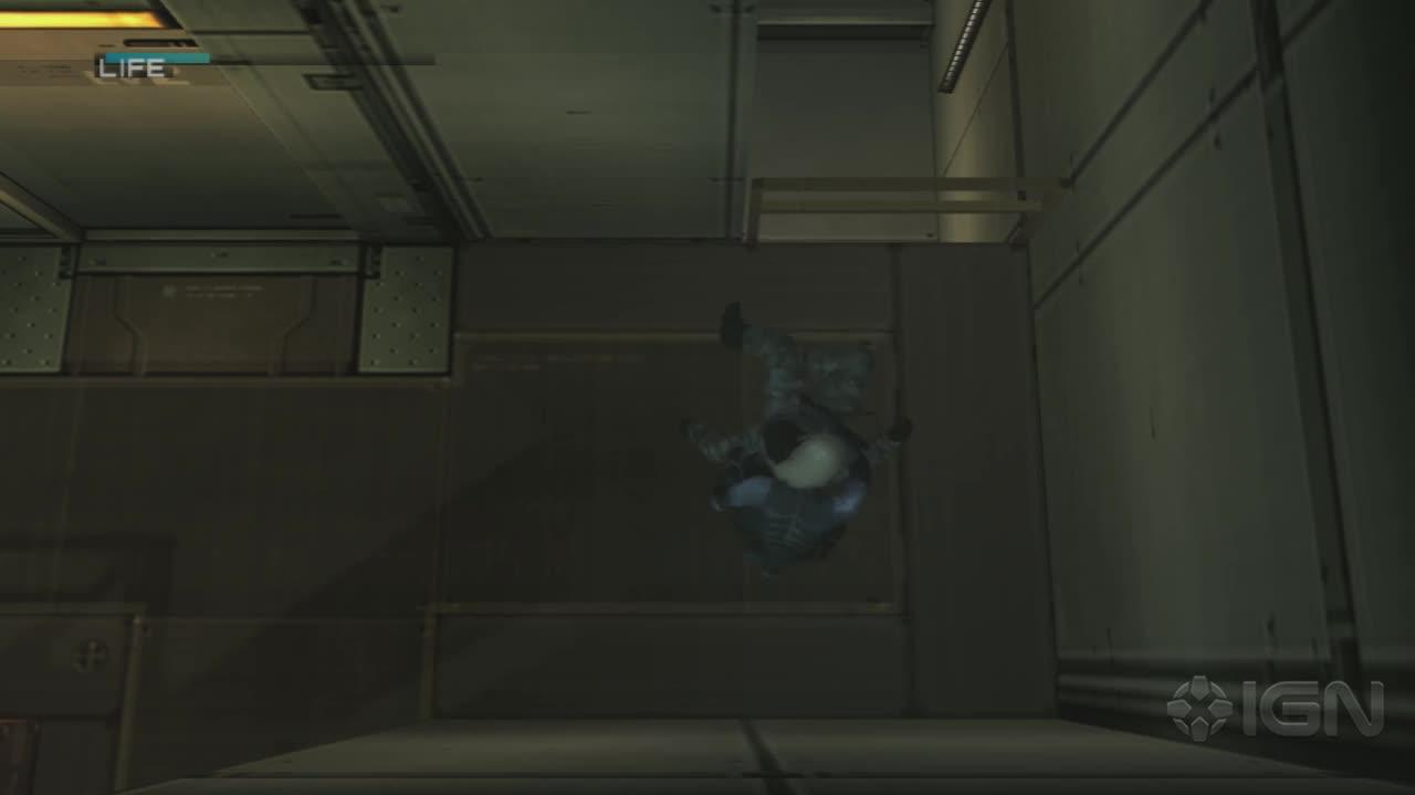 Metal Gear Solid 2 HD -Strut F Disarm and Stillman's Revelation - Gameplay