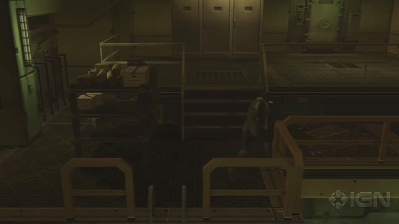 Metal Gear Solid 2 HD - Bottom of Strut A - Gameplay