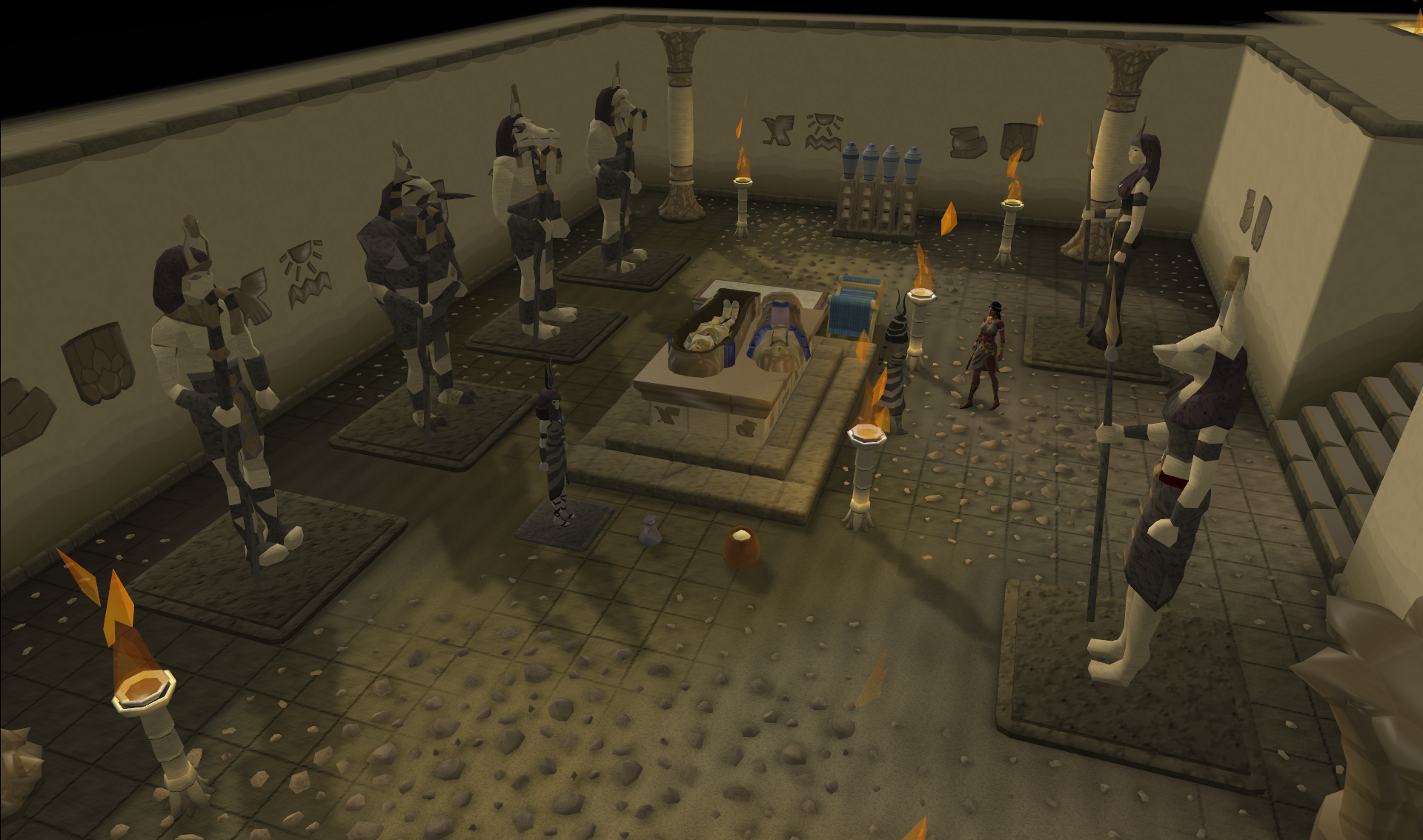 Pharaoh_Queen_Tomb you will need to cut the gems before you can use them and RS Gold
