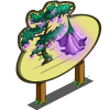 Bell Flower Tree Mastery Sign-icon
