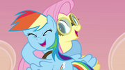 Rainbow and Fluttershy hug more S2E22