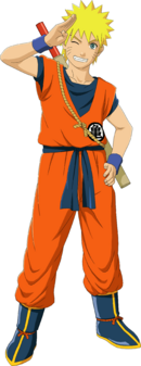 Naruto Goku Custome