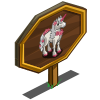 Cherry Unicorn Mastery Sign-icon