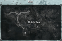 Riften Stables MapLocation