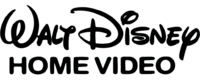 Walt Disney Home Video print logo