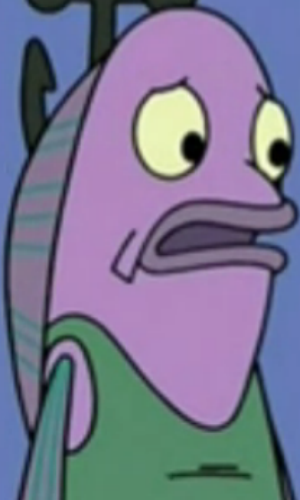 Purple fish the adventures of gary the snail wiki for Spongebob fish characters