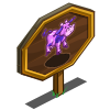 Balloon Cow Mastery Sign-icon