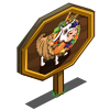 Cornucopia Cow Mastery Sign-icon