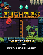 Flightless Greenlight ad