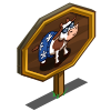 Cool Cow Mastery Sign-icon