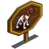 Shorthaired Pointer Mastery Sign-icon