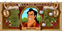Gaston's One Villain dollar bill