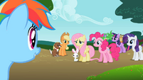 Rainbow Dash 'If I'm a pony without a pet, right?' S2E7