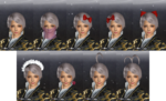 DW7E Female Accessories - Slot 2