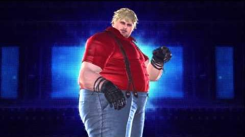 Tekken Tag Tournament 2 Bob's Intro Pose