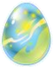 Huevo del Dragón Fluorescente