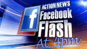 WPVI-TV's Channel 6 Action News At 4's Facebook Flash At 4 Video Open From The Early 2010's