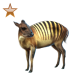 Item zebraduiker bronze 01
