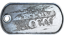 Tank Destroyer Master Dog Tag