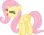 Fluttershy yay First Vector by iCammo