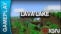 Minecraft - Lava Lake - Gameplay