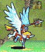 Tana as a Falcoknight