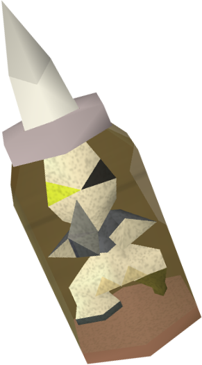 Pirate impling jar detail