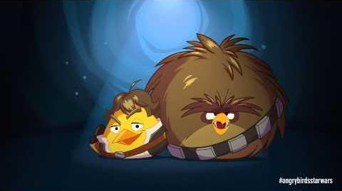 Angry Birds Star Wars Han Solo & Chewie - exclusive gameplay-0