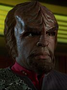 Worf an Bord der Enterprise-E 2373