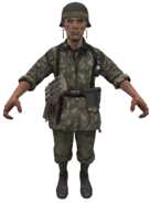 German Panzergrenadier model WaW