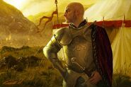 Tywin Lannister by Michael Komarck, Fantasy Flight Games