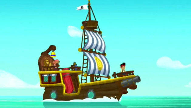 Jake And The Neverland Pirates Ship Clipart Jake And Neverland Pirates