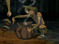 Foggy Swamp Tribesman cooking